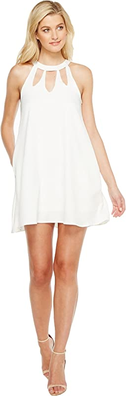Brigitte Bailey - Ashly High Neck Cut Out Dress