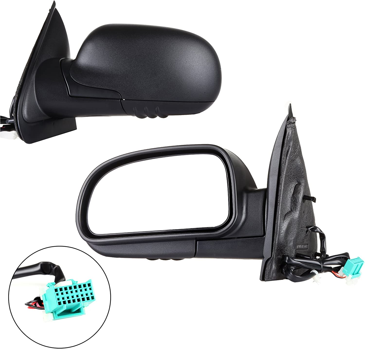 SCITOO Side View Mirror Driver Side Mirror Fit Compatible with ...