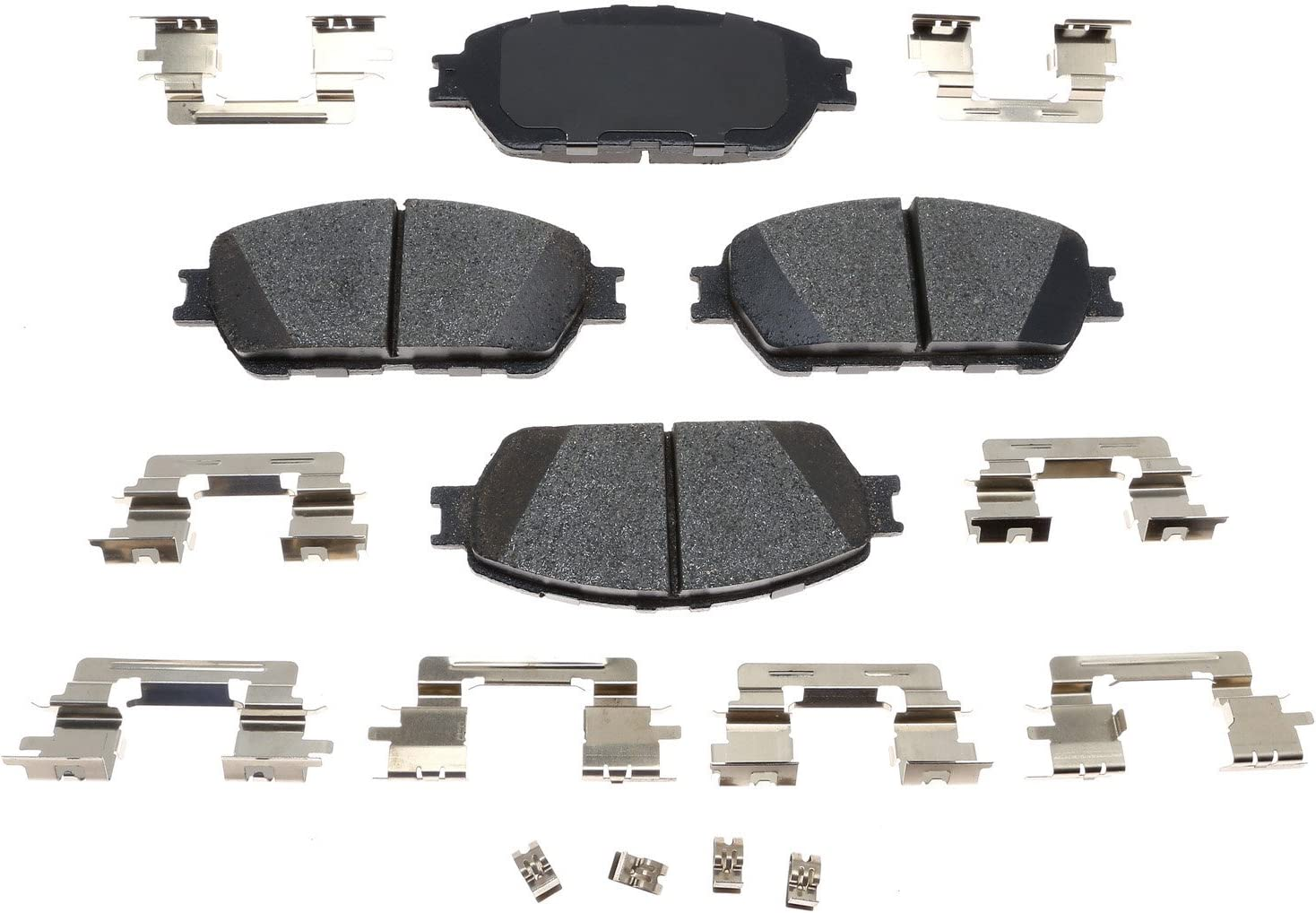 ACDelco Gold 17D906ACH Ceramic Front Set Brake Dallas Mall Max 89% OFF Disc Pad
