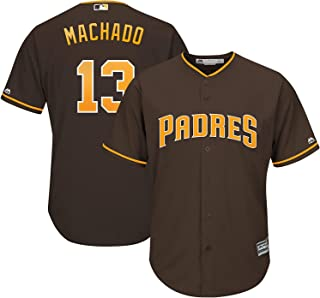 Outerstuff Manny Machado San Diego Padres #13 Brown Toddler Cool Base Alternate Replica Jersey