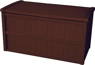 屋外収納 組立式 収納庫 200L 日本製 ブラウン