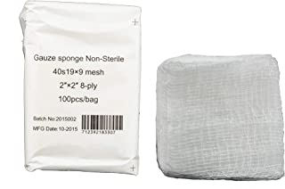 Gauze Surgical Sponges Cotton Non Sterile Non Woven 8-ply High Grade Quality 2