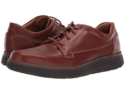 Clarks Un Abode Ease (Dark Tan Leather) Men