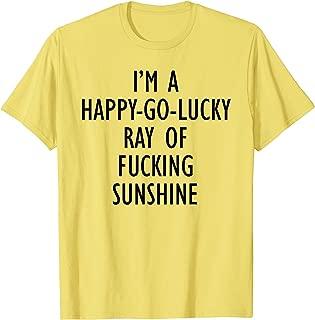 happy go lucky t shirt