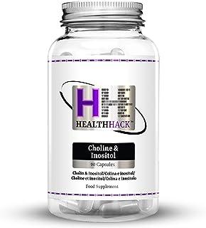 Health Hack - Colina e inositol. 90 cápsulas