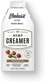 6pk Hazelnut Hemp Non Dairy Coffee Creamer - 16oz - Only 5 Ingredients - Vegan