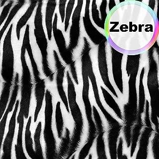 zebra fur fabric