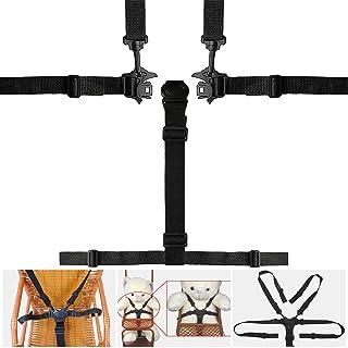 Sangle de s/écurit/é r/églable Harnais de b/éb/é Universel /à 5 Points avec /épaulettes pour Poussette Chaise Haute Poussette Landau Stylelove Ceinture de s/écurit/é pour b/éb/é