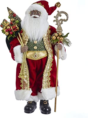 Kurt S. Adler KK0049 Santa, Multi-Color