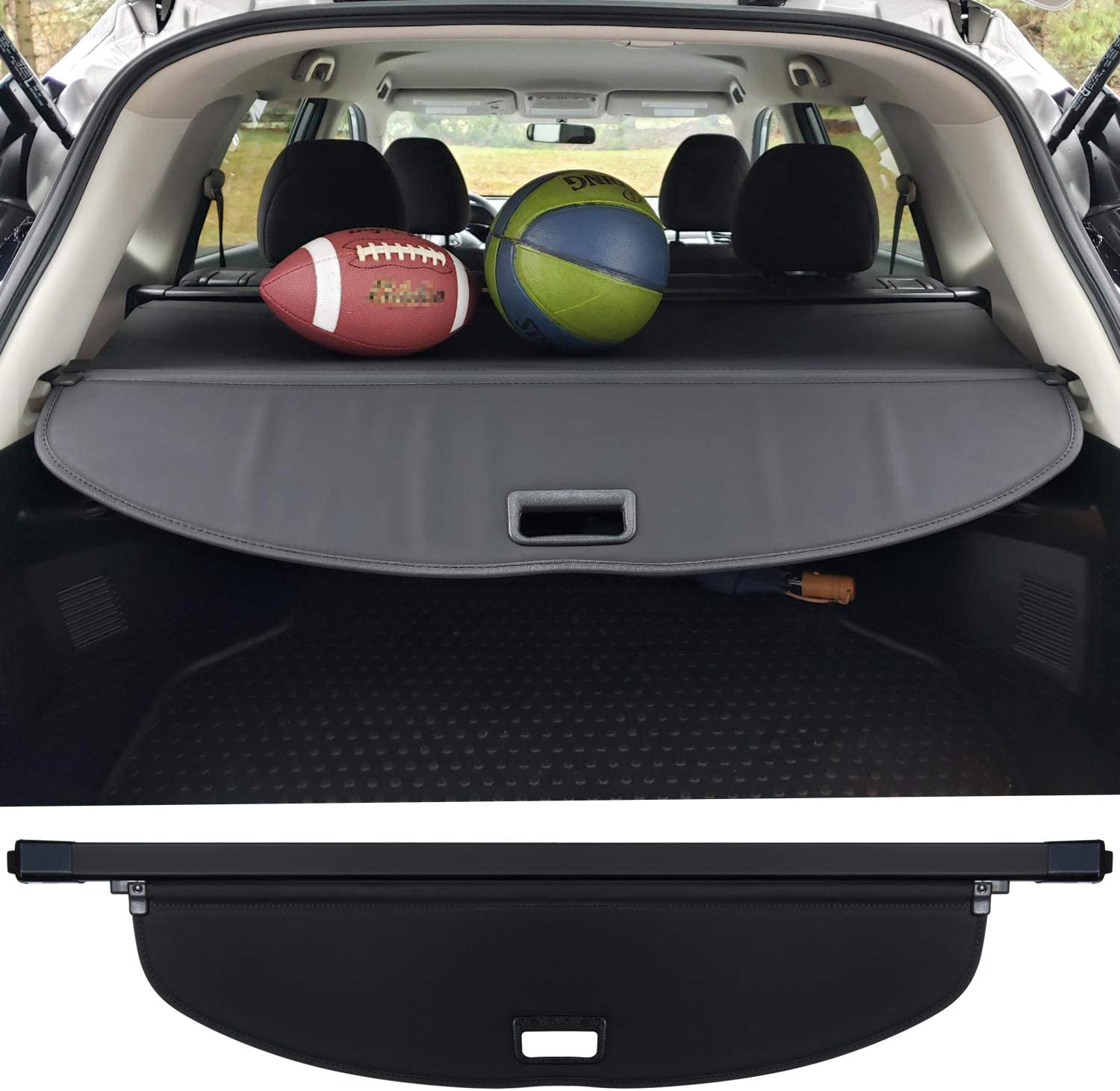 Trunk Cargo Cover For Oklahoma City Mall Nissan X-trail NEW Ret SL S SV Rogue 2014-2020