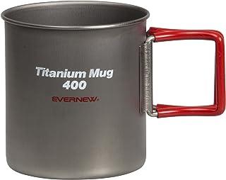 エバニュー(EVERNEW) チタンマグカップ400FH RED EBY267R