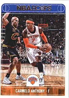 2017-18 Panini Hoops #99 Carmelo Anthony New York Knicks Basketball Card