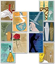 Quotable Shakespeare Poster Set. Discount Classroom Bundle Featuring Macbeth, Hamlet, Romeo and Juliet, and more. Plain Pa...