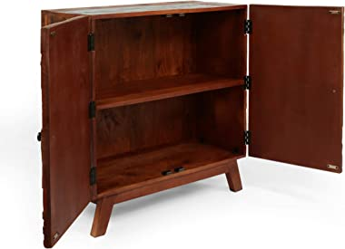 Christopher Knight Home Maysville CABINETS, Natural + Multi-Color