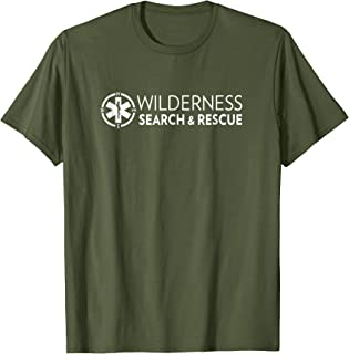 Wilderness Search and Rescue T-Shirt for Men and Women