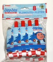 JAY JAY the JET Plane Party Blowouts (8 Count)