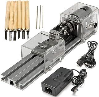 BXU-BG Trä Svarvar, Mini svarv Pärlor Machine Wood Working DIY svarv Polering Borrmaskin Rotary Tool DC 24V