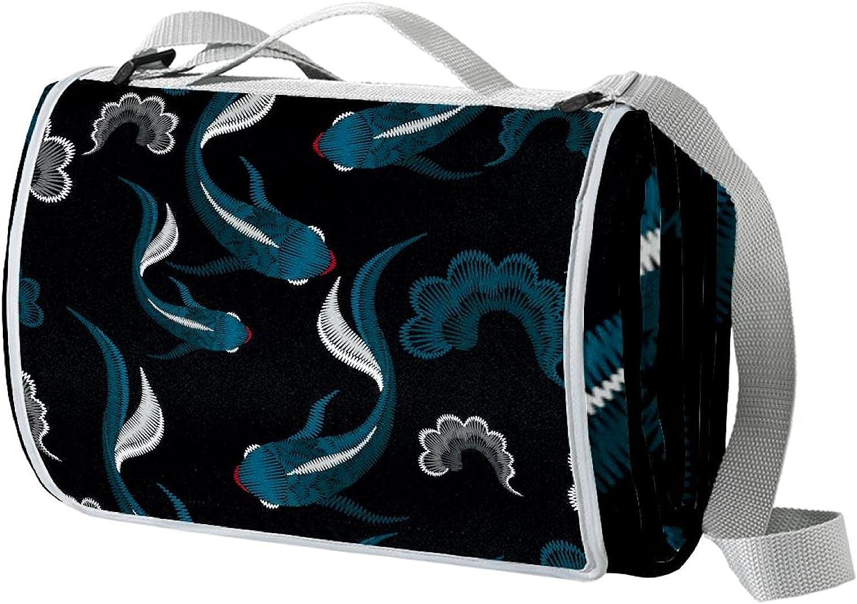 meikadianzishangwu Large Portable Waterproof Outdoor Nippon regular agency Sales for sale Picnic Blan