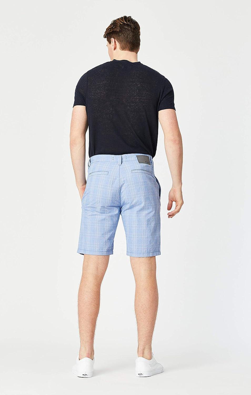 Mavi Mens Matteo Mid-Rise Twill Shorts