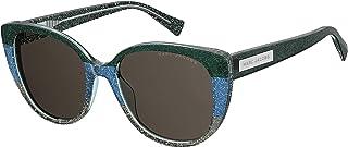 نظارات شمسية للنساء من مارك جاكوبس 202572، اللون: غرين بلاك جلت، المقاس: 54