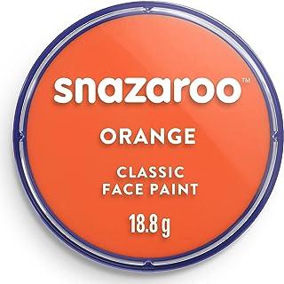 Snazaroo 1118553 Classic Face Paint, 18ml, Orange