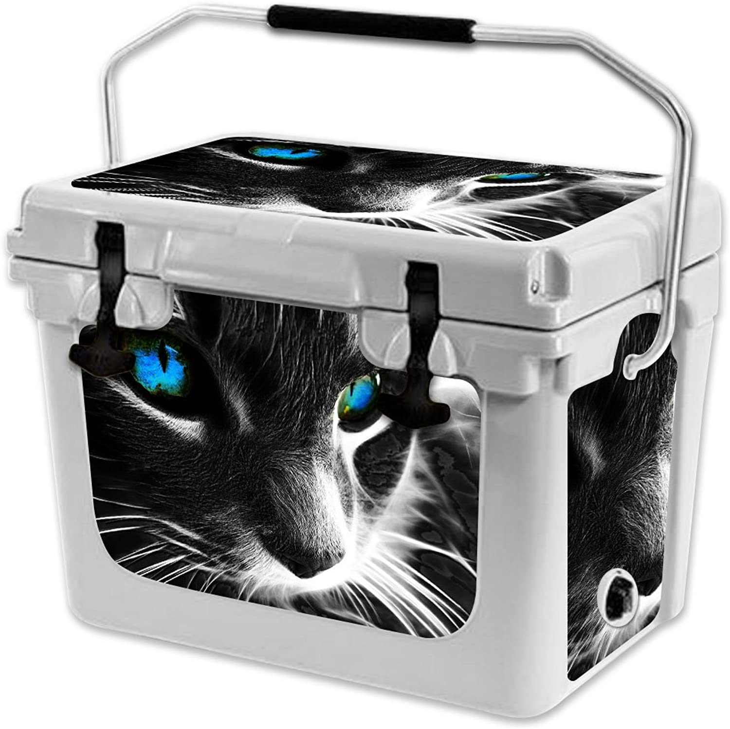 MightySkins Skin Compatible with RTIC 20 Cooler (2017 Model)  Cat   Predective, Durable, and Unique Vinyl Decal wrap Cover   Easy to Apply, Remove, and Change Styles   Made in The USA