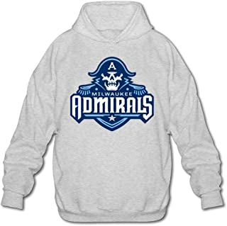 Men's Milwaukee Admirals New Logo 2015 Sweatshirts