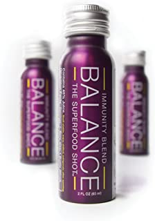 Immune Support with Real Vitamin C. Organic Shots for wellness w/ Sambucus Elderberry, & 1/2 Day of Fruits & Vegetables fo...