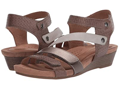 Cobb Hill Hollywood 4 Strap (Dove/Multi) Women