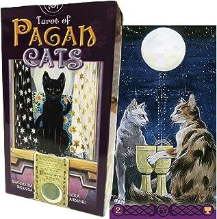タロットカード 78枚 ウェイト版 タロット占い 【 タロット オブ ペイガン・キャッツ Tarot Of Pagan Cats 】日本語解説書付き [正規品]