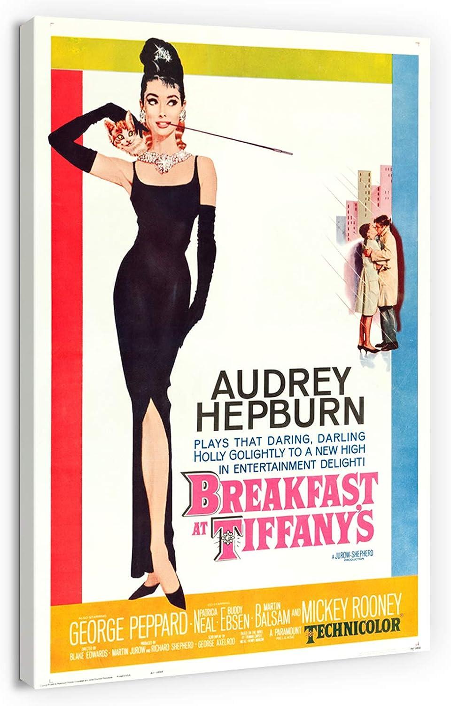artprints1stop Limited Special Price Canvas Print Wall Art Super intense SALE Audrey - Mo Vintage Hepburn