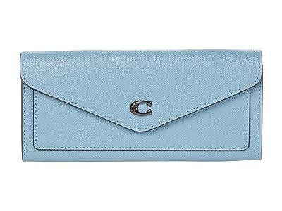 COACH Cross Grain Leather Wyn Soft Wallet