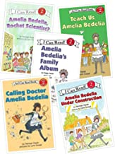 Amelia Bedelia: Set of 5 Books (Amelia Bedelia's Family Album ~ Amelia Bedelia Under Construction ~ Amelia Bedelia, Rocket Scientist? ~ Calling Doctor Amelia Bedelia ~ Teach Us, Amelia Bedelia)