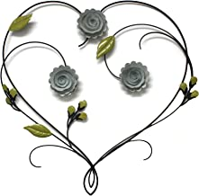 Best heart metal art Reviews