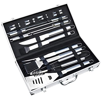 slashome BBQ Tools Set,19 Piece Grill Tools Set...