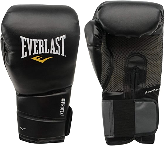 Everlast Prougeex 2Gants de Boxe Evercool Noir Sac de Gym Fitness Gants de Boxe