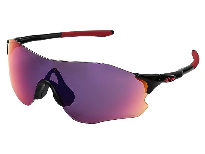 Oakley Evzero Path (Polished Black w/ Prizm Road) Sport Sunglasses