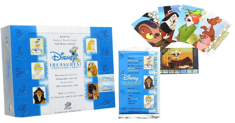 Disney Treasures Series 2 Upper Deck Trading Cards Box Set - 24 Packs: Amazon.es: Juguetes y juegos