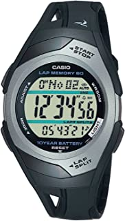 Casio STR-300C-1VER Mens PHYS Rubber Strap Digital Sports Watch