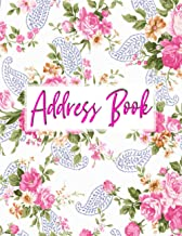 Address Book: Address Book For Seniors Large Print | Address Book 8 1/2 X 11 | A-Z Alphabetical Index Address Book More Th...
