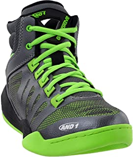 AND1 Mens Overdrive Basketball Athletic Shoes,