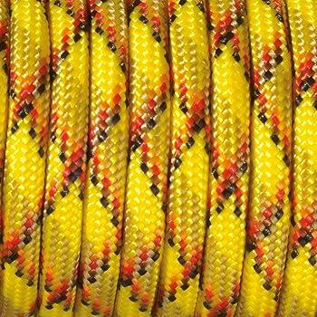 M/élange de Polyester Jaune//Marron Efco Couleur Mix paracorde 550/Corde 4/mm x 4/m