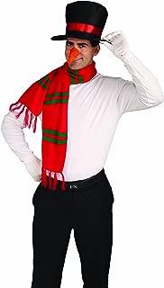 Forum Novelties Men's Snowman Costume Kit Hat Nose Scarf