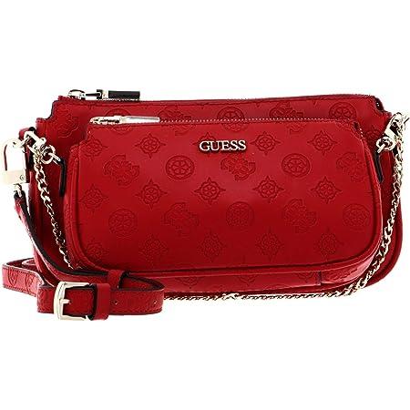 Guess Borsa tracolla Dayane double pouch crossbody rosso BS21GU18 SB796870