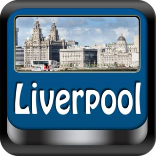 Liverpool Offline Map Travel Guide (Kindle Tablet Edition)