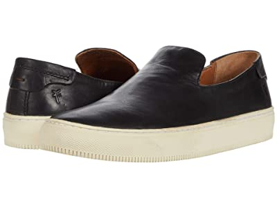 Frye Astor Slip-On (Black Vintage Veg Tan) Men
