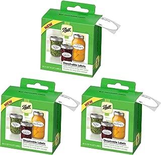 Best ball dissolvable canning jar labels Reviews