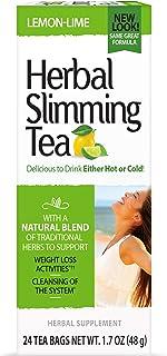 21st Century Slimming Tea, Lemon Lime, 24 Count (22791), 1.7 Ounce