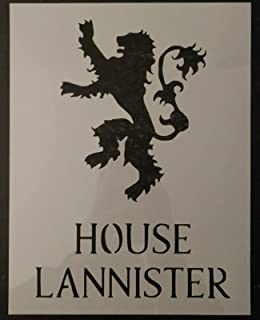 GOT Game of Thrones House Lannister 8.5