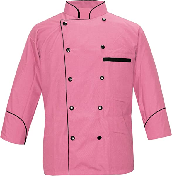 Leorenzo Designed PN 71 Men S Chef Coat Black Piping Exclusive Chef Jacket